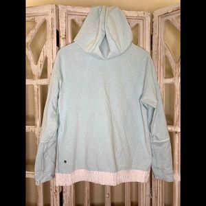 Lululemon size 12 light blue hoodie